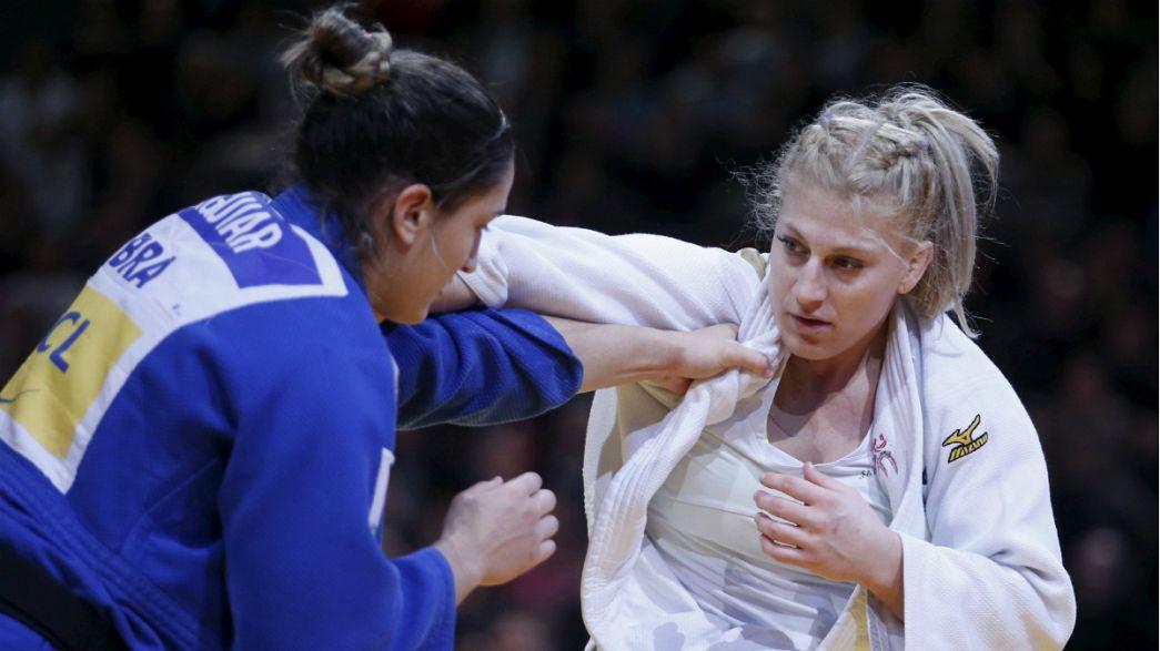 Megumi Tachimoto logra una medalla histórica en el Grand Slam de París de yudo