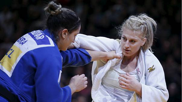 Judo: Paris'te Taçimoto altın rekoru kırdı