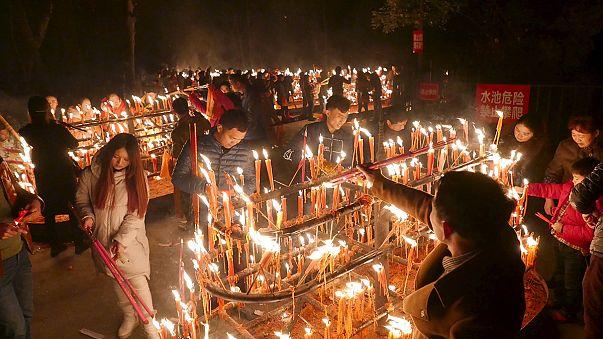 الصين وعدة دول أسيوية تحتفل بعام القرد