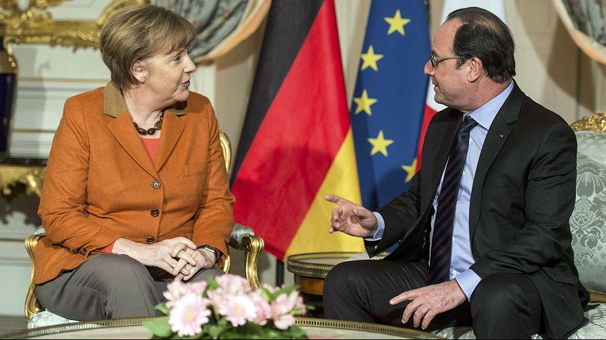 Merkel und Hollande bekräftigen gemeinsame Linie in der Flüchtlingskrise