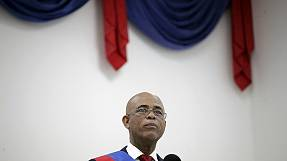 رئیس جمهوری هاییتی بدون مشخص شدن چهرۀ جانشین خود خداحافظی کرد
