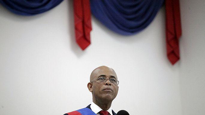 رئيس هايتي يلقي خطبة الوداع على شعبه..ولا خليفة له