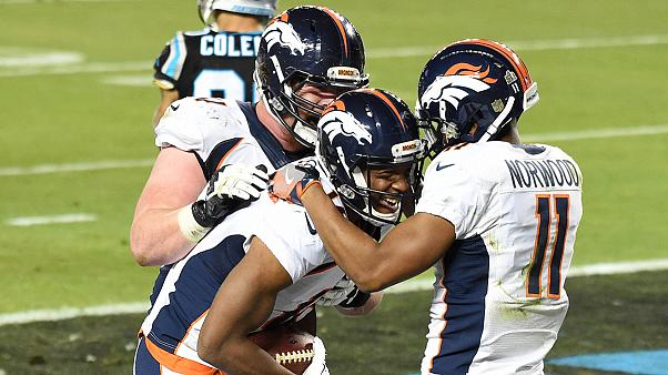 Los Broncos ganan su tercera Super Bowl frente a los Panthers por 24 a 10