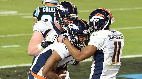 Denver Broncos win Super Bowl