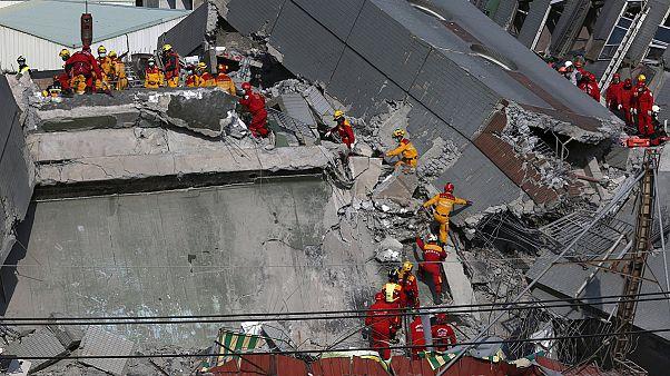 جستجوها برای مفقودشدگان زلزله در تایوان ادامه دارد