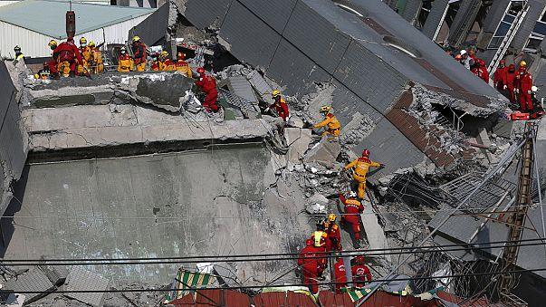 حصيلة قتلى زلزال تايوان ترتفع إلى 38 قتيلا