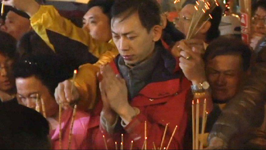 Ταϊβάν: Θλιμμένη πρωτοχρονιά