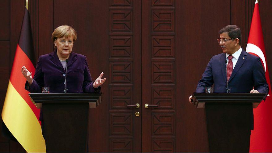 Проблема сирийских беженцев: Германия и Турция выработали план