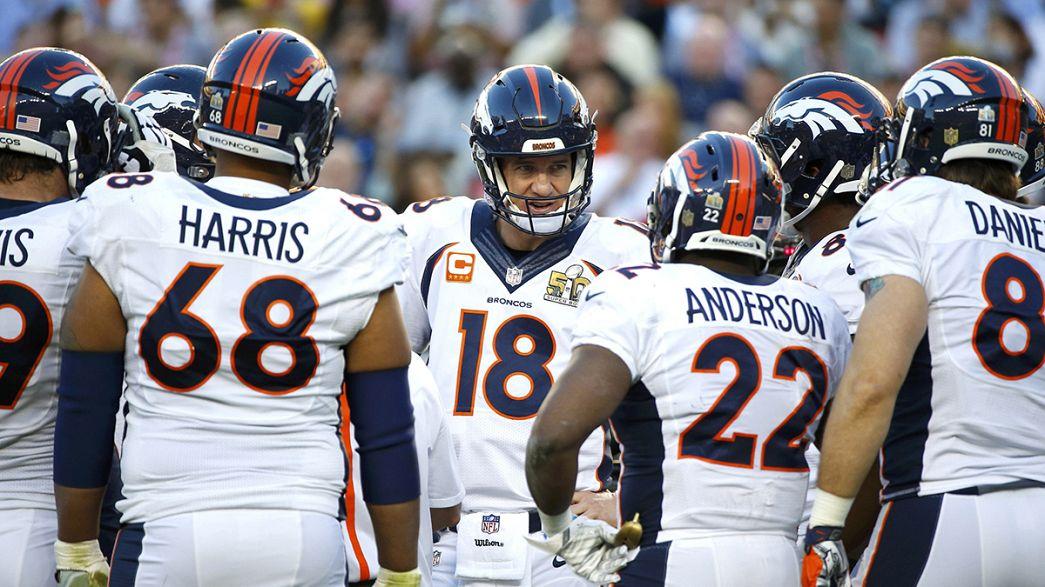 """Super Bowl 50: Broncos vencem súper negócio americano e Denver """"explode"""" em festa"""