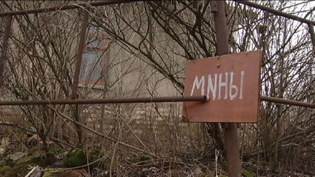 Gefährliche Hinterlassenschaft: Minenfeld Ost-Ukraine