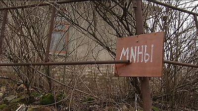 Ucrânia: Syze, uma vila cercada por minas antipessoais