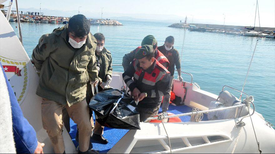 Ege'de göçmen teknesi alabora oldu: En az 27 ölü