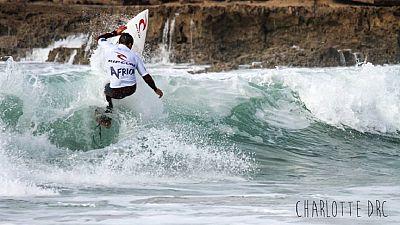 Trio de tête pour le Maroc à la 1e étape du Rip Africa Surf Tour