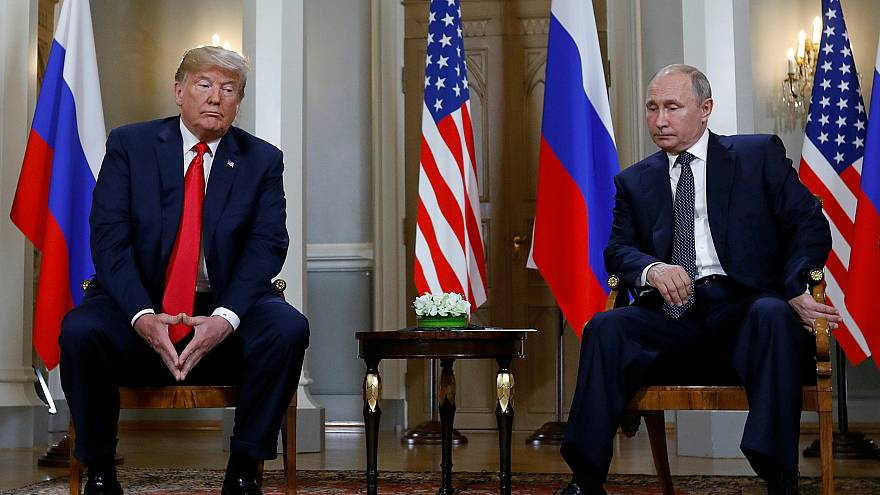 Image: Trump meets with Putin in Helsinki, Finland
