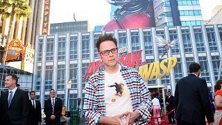 Image: James Gunn attends the Los Angeles Global Premiere for Marvel Studio