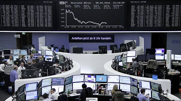 European shares tumble with banks the main focus of concern