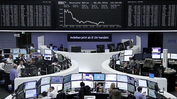 Konjunktur, US-Zinsen: Börsianer hippelig