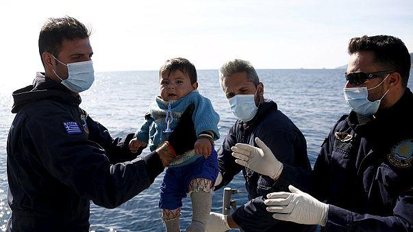 Edremit Körfezi'nde göçmen teknesi battı