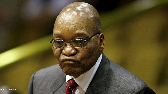 Ellenzéki tüntetés Dél-Afrikában