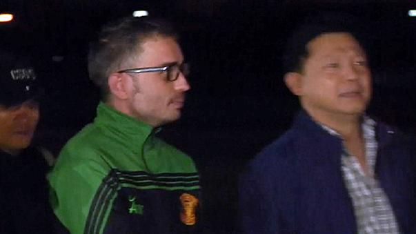 Vahşi cinayet zanlısı İspanyol Tayland'a iade edildi
