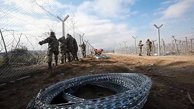 Macedónia reforça fronteira com a Grécia
