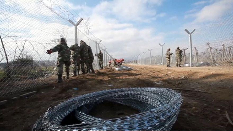 Mazedonien verstärkt Grenzzaun zu Griechenland