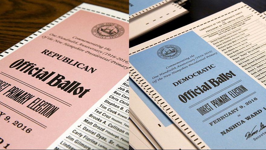 Праймериз в Нью-Гэмпшире: Клинтон теряет голоса