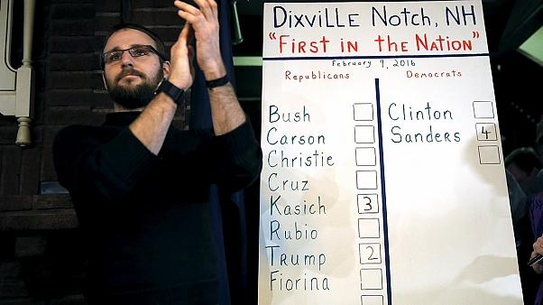 New Hampshire: Dixsville Notch results in
