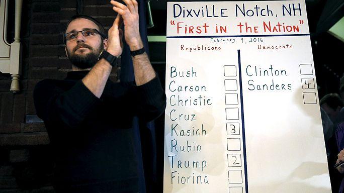تقدم ساندرز على كلينتون في تصويت ديكسفيل نوتش