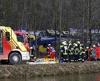 Allemagne: au moins 4 morts dans un accident de train en Bavière