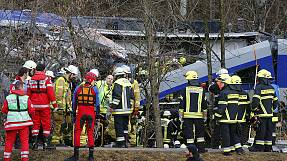 Zugunglück in Bayern: Vier Tote, über 150 Verletzte