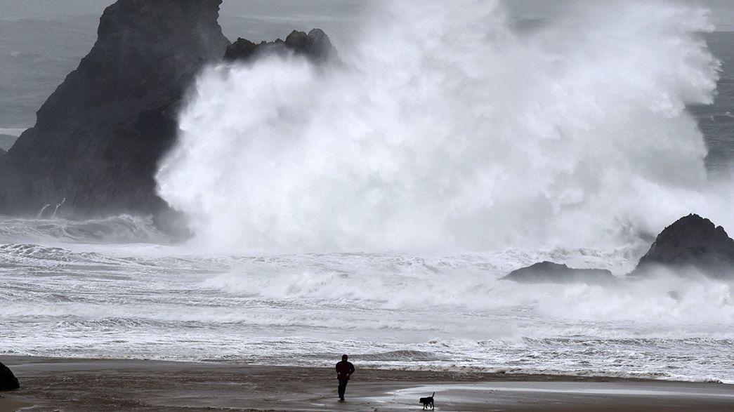 Schwere Unwetter in Teilen Europas