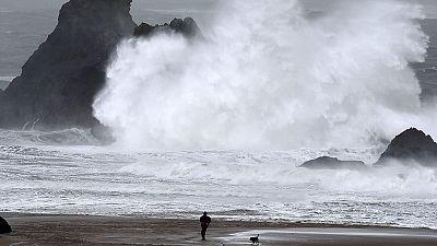 Storm Imogen wreaks havoc across Europe