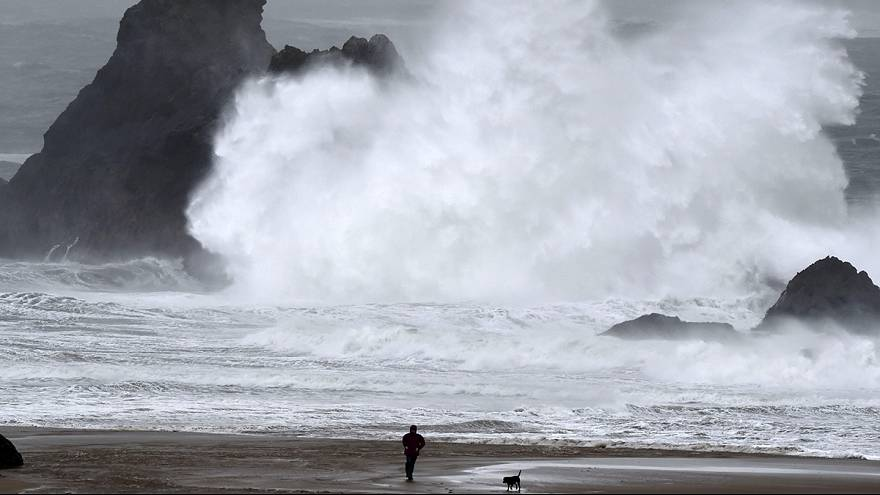 Storm Imogen wreaks havoc across Europe