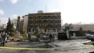 Suicide bombing at Damascus police club kills several people