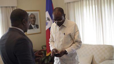 Haiti's PM calls for run-off amid protests