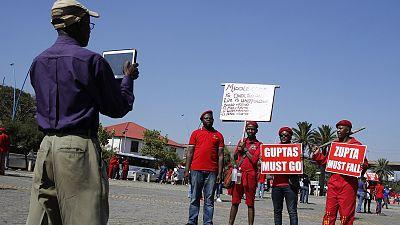 En Afrique du Sud, la gauche radicale a marché contre Jacob Zuma