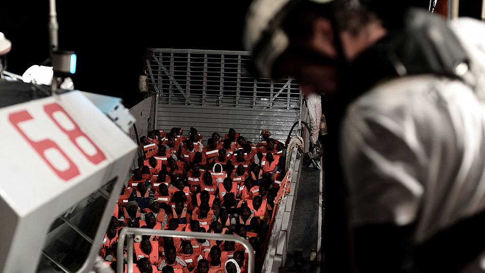 Migrant rescue ship's ordeal exposes hardening views as populism blossoms