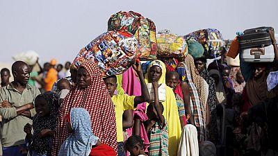 Boko Haram displaced people unwilling to return home