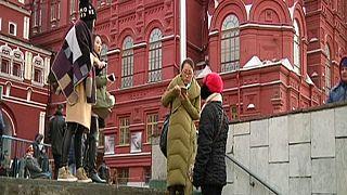 Китайские туристы едут в Россию