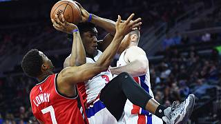 NBA: Toronto Raptors gewinnen in Detroit