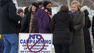 Primaires américaines : Sanders et Trump favoris dans le New Hampshire