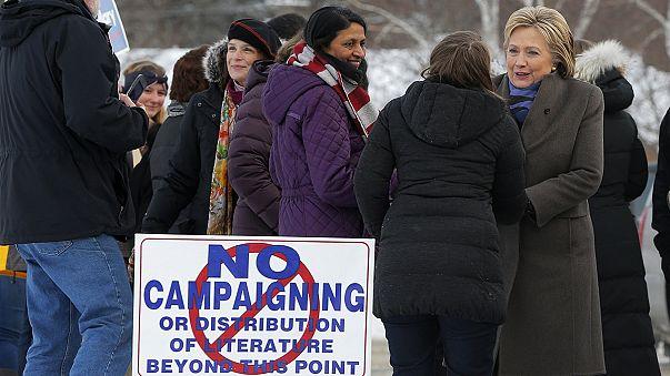 USA: Vorwahlen in New Hampshire angelaufen - Sanders und Trump Favoriten