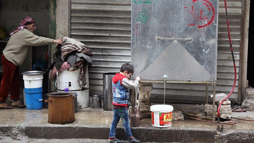 Syrie : inquiétude pour les civils à Alep et dans les autres villes assiégées