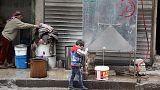 Humanitárius katasztrófa fenyeget Aleppóban