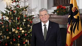 Le président allemand au Nigeria
