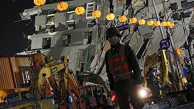 Taiwan quake: Developer arrested in collapsed building probe