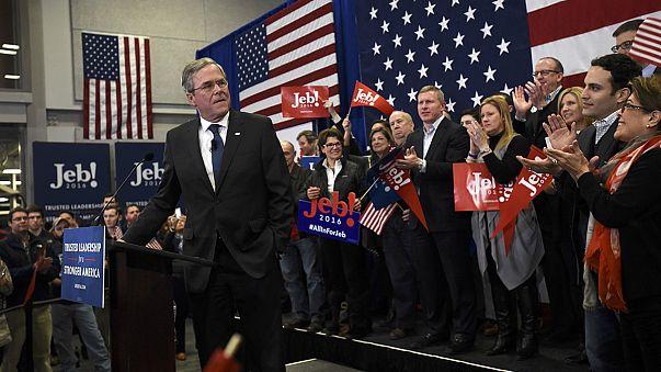 New Hampshire'da Jeb Bush'a ter döktüren ön seçimler
