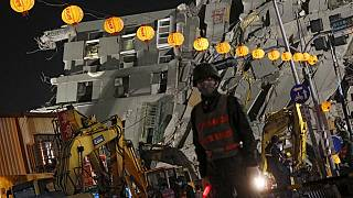 Taiwan: 2 bodies retrieved from site of collapsed building