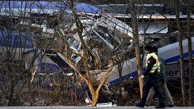 Elképzelhető, hogy emberi mulasztás okozta a német vonatbalesetet